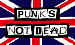 Punks Not Dead Flags